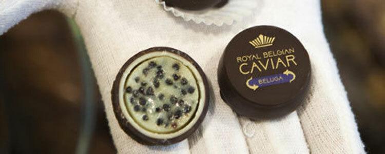 Caviar praline