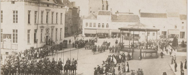 Turnhout during WWI